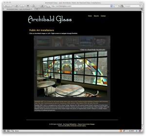 Jack Archibald, Archibald Glass