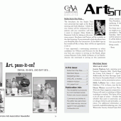 Camano Arts Association, quarterly newsletter