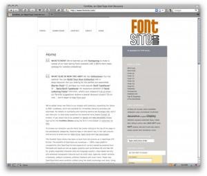FontSite, an OpenType Font Resource